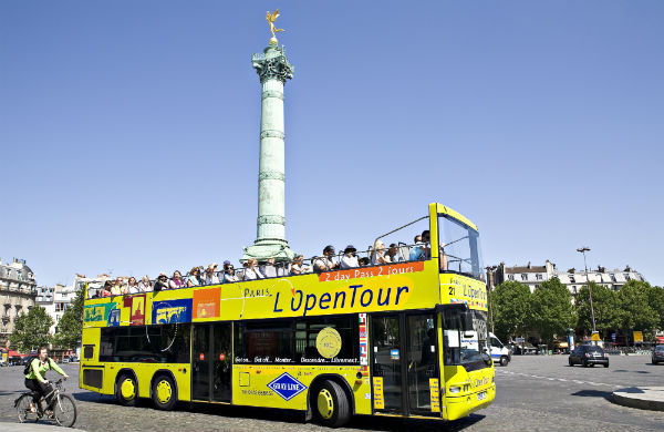 Bus Open Tour Paris