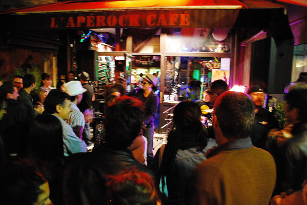 Apérock cafe